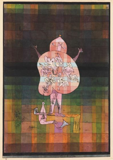Klee, Paul: Ventriloquist and Crier in the Moor. Fine Art Print/Poster (4985)